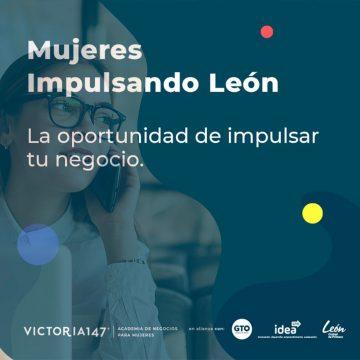 Convocatoria Mujeres Impulsando a León